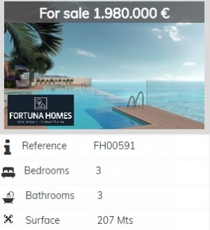 seafront location offers the privilege of living the sea, Estepona